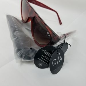 NWT Quay Australia cat eye tortoise colors
